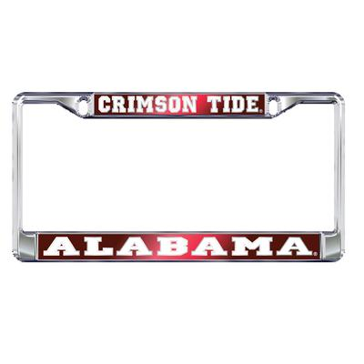 Alabama License Plate Frame Crimson Tide/Alabama