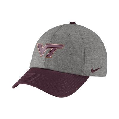 Virginia Tech Nike Heritage86 Heather Two Tone Hat