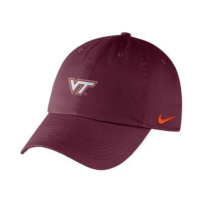 Virginia Tech Nike H86 Small Logo Cap