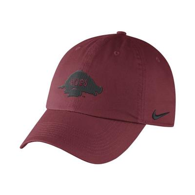 Arkansas Nike Heritage 86 Vault Logo Flex Fit Hat