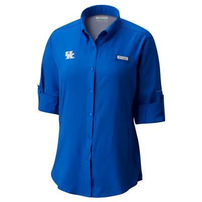 Kentucky Columbia Women's Tamiami Long Sleeve Shirt