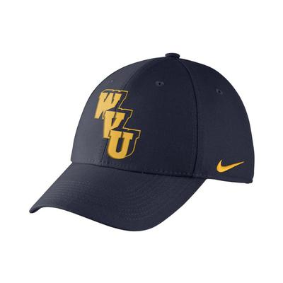 West Virginia Nike Heritage 86 Vault Logo Flex Hat