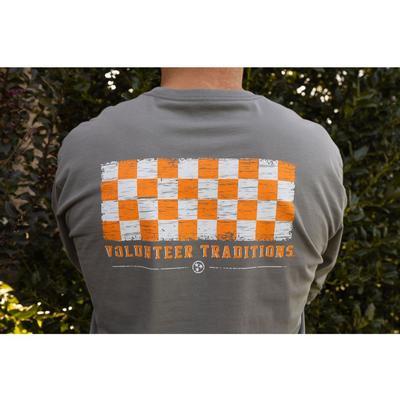 Tennessee Volunteer Traditions Long Sleeve Checkerboard Tee
