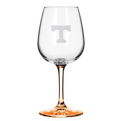 Tennessee 12oz Satin Etch Wine Glass