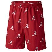 Alabama Columbia Pfg Backcast River Shorts