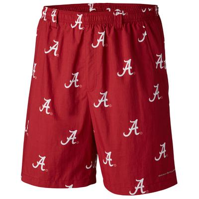 Alabama Columbia PFG Backcast River Shorts