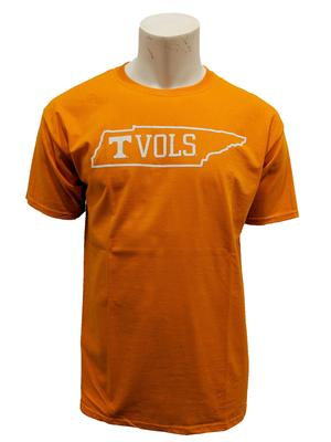 Tennessee State Outline VOLS Tee