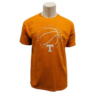 Tennessee Circle Basketball Logo T-shirt