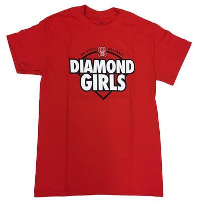 NC State Diamond Girls Short Sleeve Tee