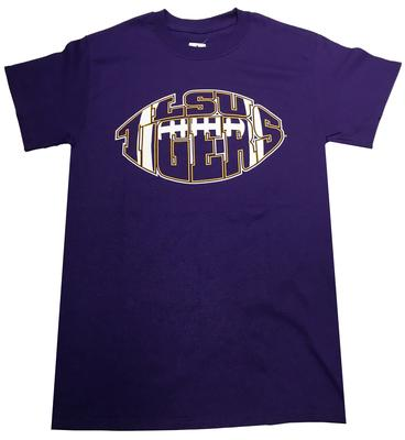 LSU Football Shape Tee