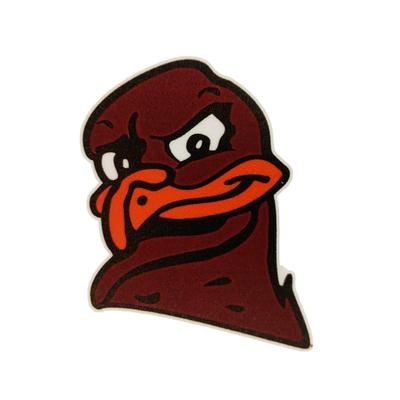 Virginia Tech Hokiebird Head Decal (3 inch)
