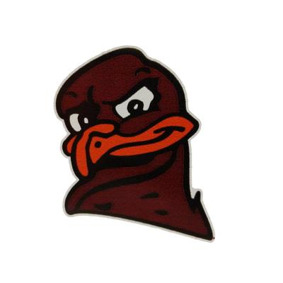 Virginia Tech Hokiebird Head Magnet (3 Inch)