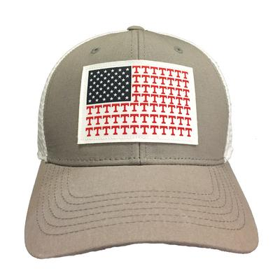 Tennessee Top Of The World Mini Logo Flag Trucker Hat