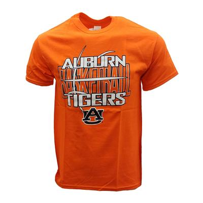 Auburn Tigers Short Sleeve Basketball Tee