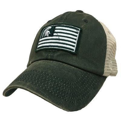 Michigan State Logo Flag Trucker Hat