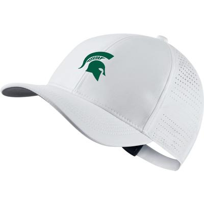 Michigan State Nike Golf AeroBill Performance Adjustable Hat