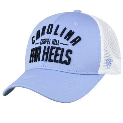 UNC Top of the World Trucker Trainer Adjustable Hat
