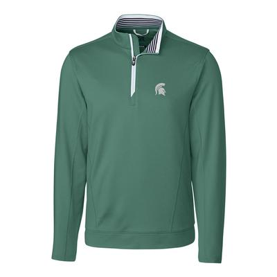Michigan State Cutter & Buck Endurance 1/2 Zip Pullover