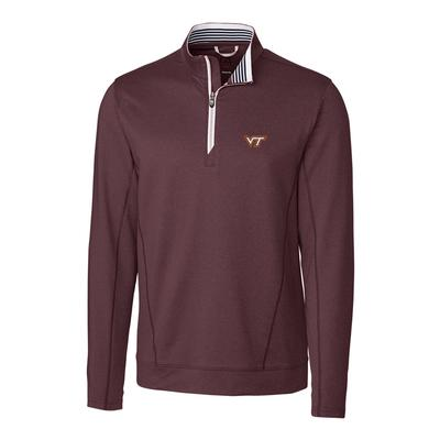 Virginia Tech Cutter & Buck Endurance 1/2 Zip Pullover