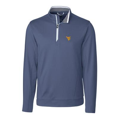 West Virginia Cutter & Buck Endurance 1/2 Zip Pullover