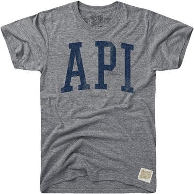 Auburn Retro Brand API Streaky Tee