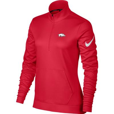Arkansas Nike Golf Women's Therma-FIT 1/2 Zip Top