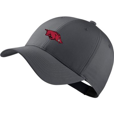 Arkansas Nike Golf Dri-Fit Tech Cap DK_GREY