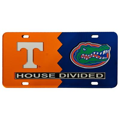 House Divided Tennessee/Florida License Plate