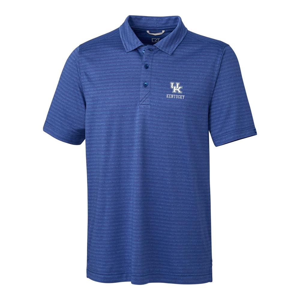Kentucky Cutter & Buck Cascade Stripe Polo