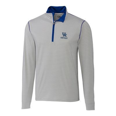 Kentucky Cutter & Buck Meridian 1/2 Zip Pullover