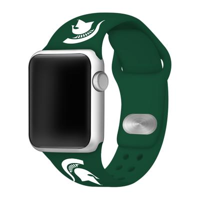 Michigan State Apple Watch Silicone Sport Band 38mm