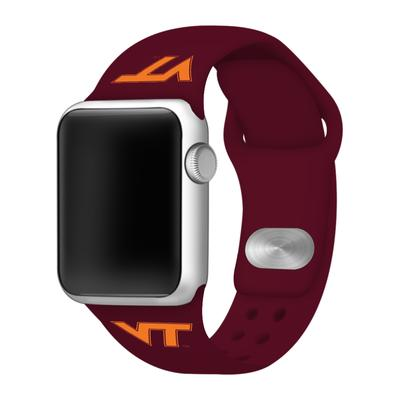 Virginia Tech Apple Watch Silicone Sport Band 38mm