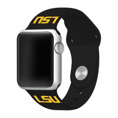 LSU Apple Watch Silicone Sport Band 38mm