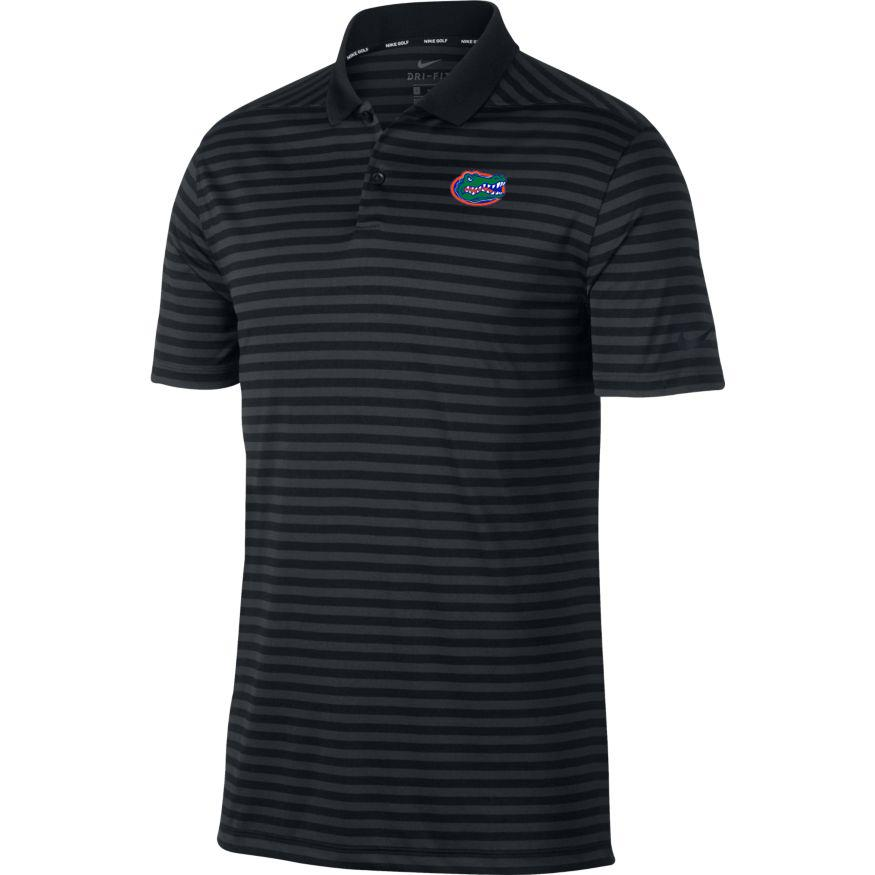 Florida Nike Golf Dry Victory Stripe Polo