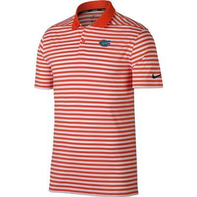 Florida Nike Golf Dry Victory Stripe Polo ORANGE