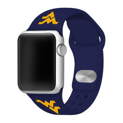West Virginia Apple Watch Silicone Sport Band 38mm
