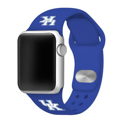 Kentucky Apple Watch Silicone Sport Band 38mm