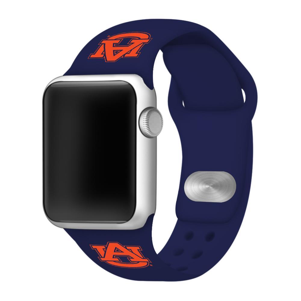 Auburn Apple Watch Silicone Sport Band 38mm