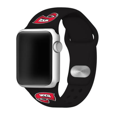 Western Kentucky Apple Watch Silicone Sport Band 38mm