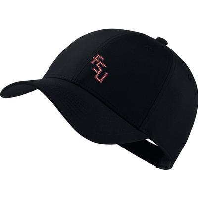 Florida State Nike Golf Dri-Fit Tech Cap BLACK