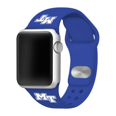 MTSU Apple Watch Silicone Sport Band 42mm