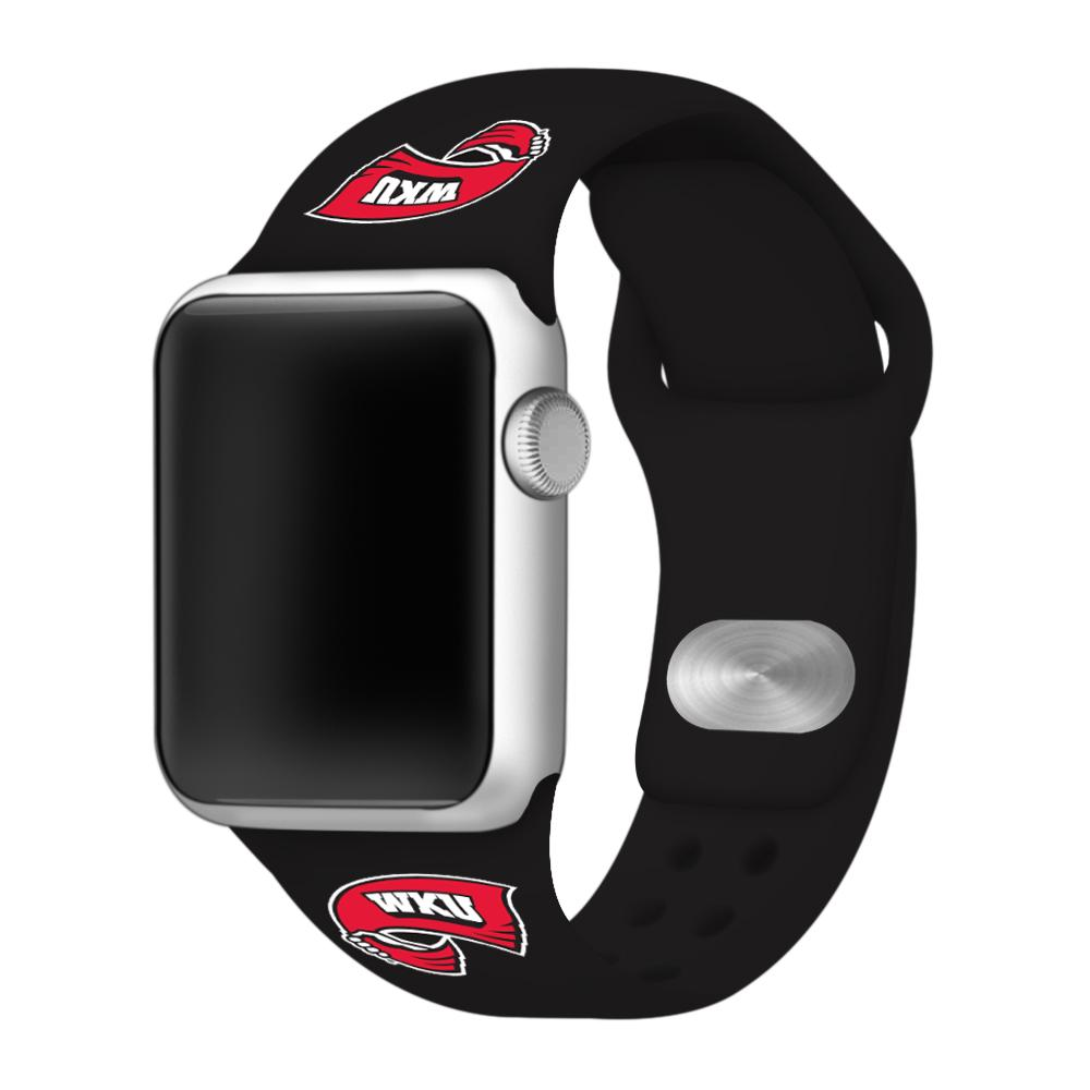 Western Kentucky Apple Watch Silicone Sport Band 42mm
