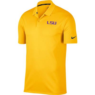 LSU Nike Golf Dry Victory Solid Polo