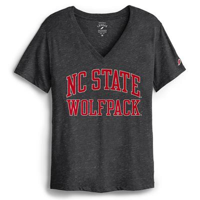 NC State League Women's Intramural Boyfriend V-Neck Tee