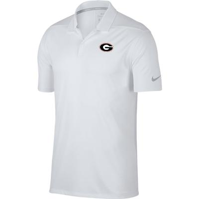 Georgia Nike Golf Dry Victory Solid Polo