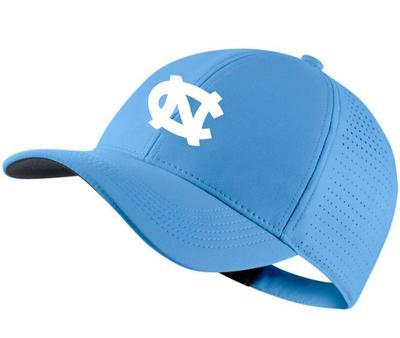 UNC Nike Golf AeroBill Custom Adjustable Hat