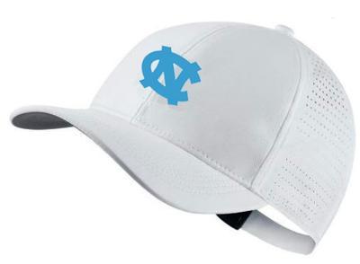 UNC Nike Golf AeroBill Custom Adjustable Hat WHITE