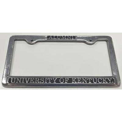 Kentucky Alumni Pewter License Plate Frame