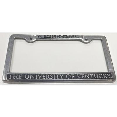 Kentucky Pewter License Plate Frame
