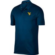 West Virginia Nike Golf Dry Victory Solid Polo
